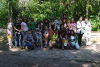 """Biedrība """"Kreatīvs"""" un mūsu skolēni sagaidīja viesus no Ķipras"""